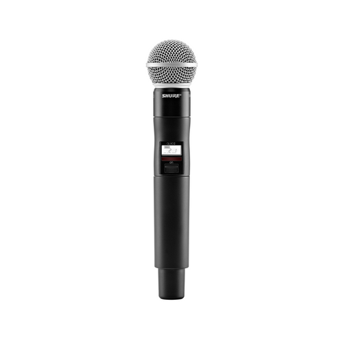 Shure SM58 with QLXD2 Handheld Transmitter