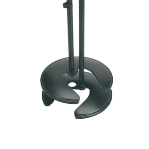 K&M 26075 Stackable One-Handed Microphone Stand
