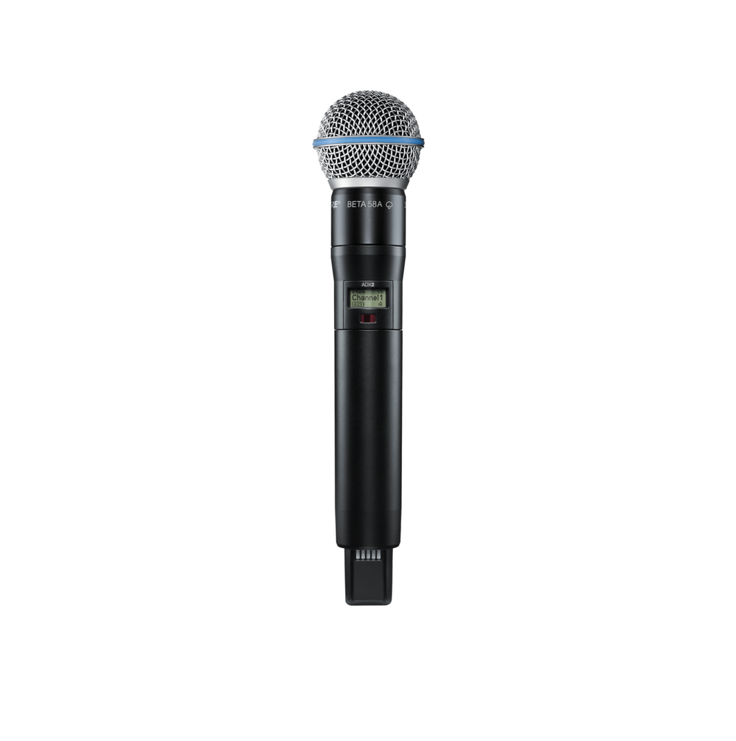 Shure ADX2/B58 Handheld Wireless Microphone Transmitter