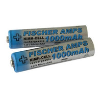 Fischer Rechargeable Battery AAA, 1000 mAh