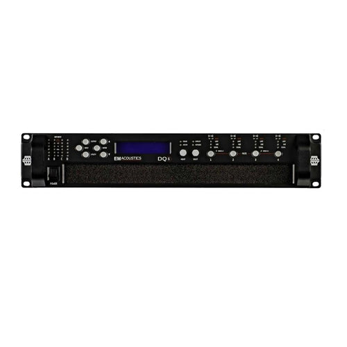 EM Acoustics DQ6 Advanced System Amplifier