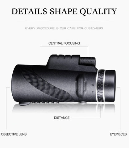 Components of Professional Mobile Monocular Telescope