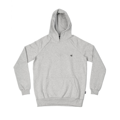 no bad days hoodie - grey - pellim.