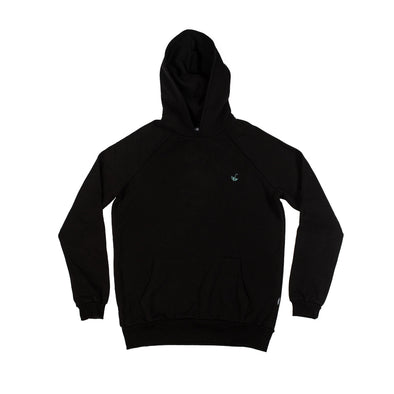 no bad days hoodie - black - pellim.