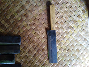 Hand made Leaf Spring knife Square head for work and outdoors