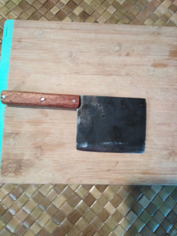 Leaf Spring 5160 Steel Vegetable Cleaver