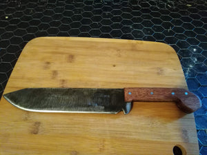 Leaf Spring Knife Bowie Style Chopper 15 Inches 5160 steel