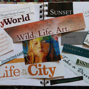 Creating a Vision Board: A tool for helping you achieve your goals