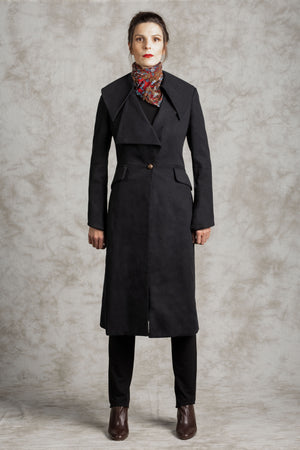 The Commander Hemp/Wool Coat