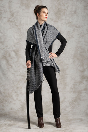 The Paladin Tweed Wrap