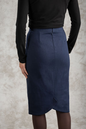 The Slant-Vent Skirt