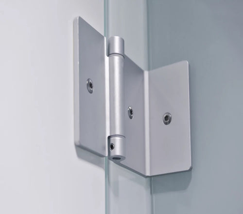 Aluminium Hinges - Door to Pilaster Panel and Divider Panel (Pack of Two)