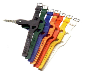 Key Strap with Rivet - Un-Numbered (Pack of Ten)