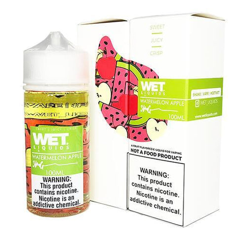 Wet Liquids - Watermelon Apple eJuice