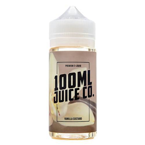 100ml Juice Co - Vanilla Custard