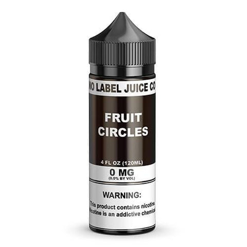No Label Juice Co eJuice - Fruit Circles