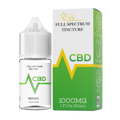 VCBD 1000mg Full Spectrum Tincture