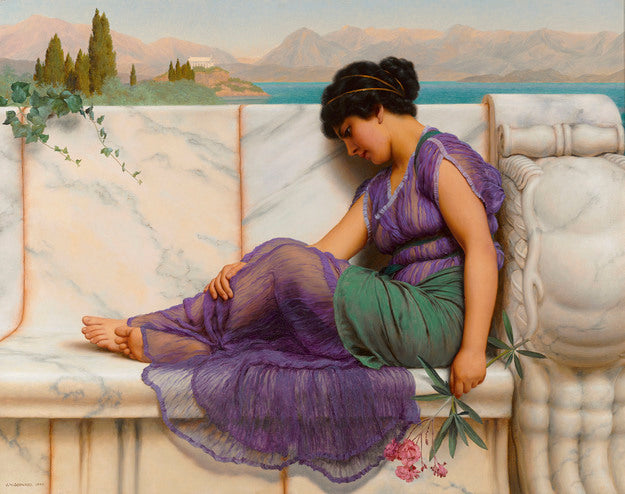 The Neoclassicist John William Godward