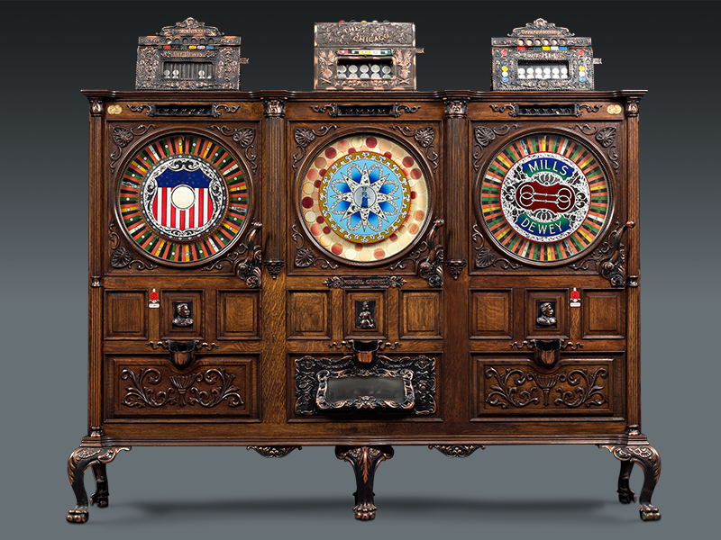 Jackpot: The History of Antique Slot Machines