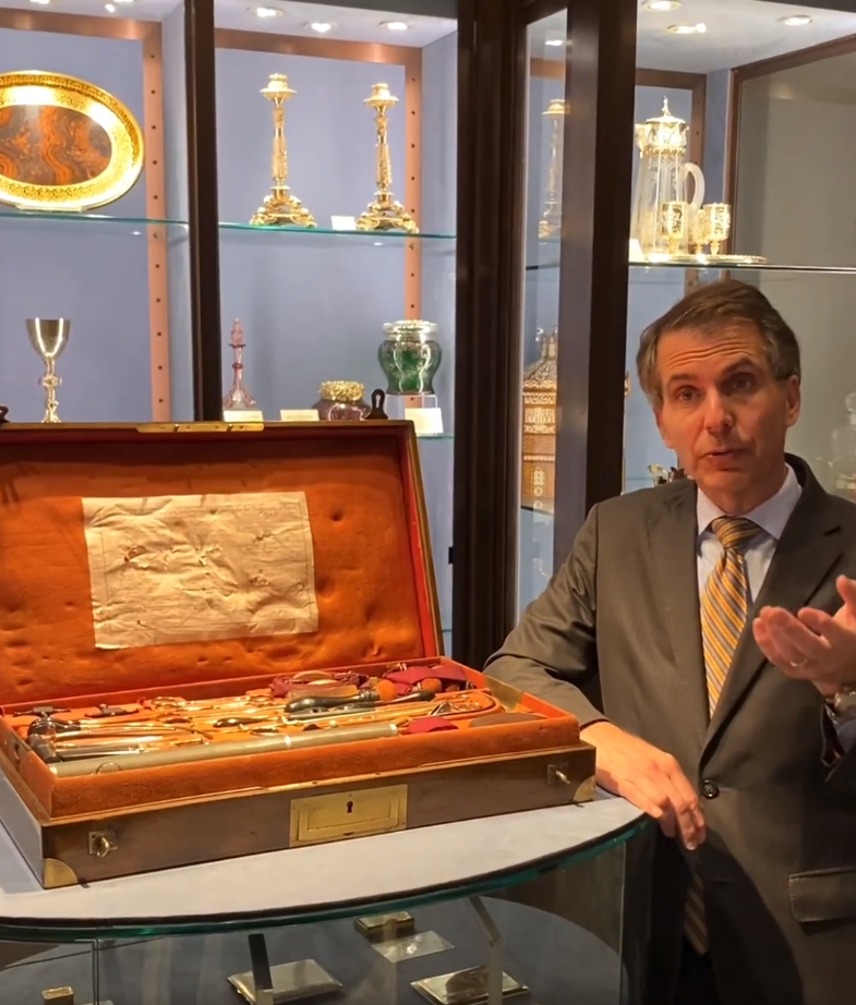Expert Insights with Bill Rau: French Naval Surgeon's Kit | M.S. Rau