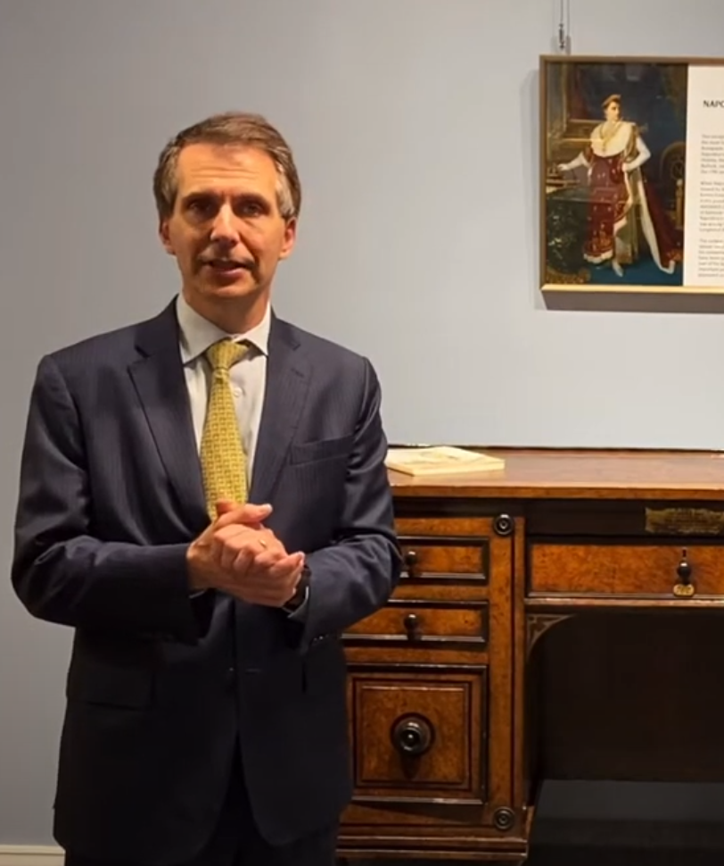 Expert Insights with Bill Rau: Napoléon's St. Helena Desk | M.S. Rau