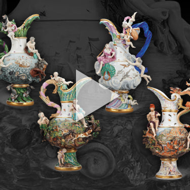 Expert Insights: Four Elements Porcelain Ewers by Meissen