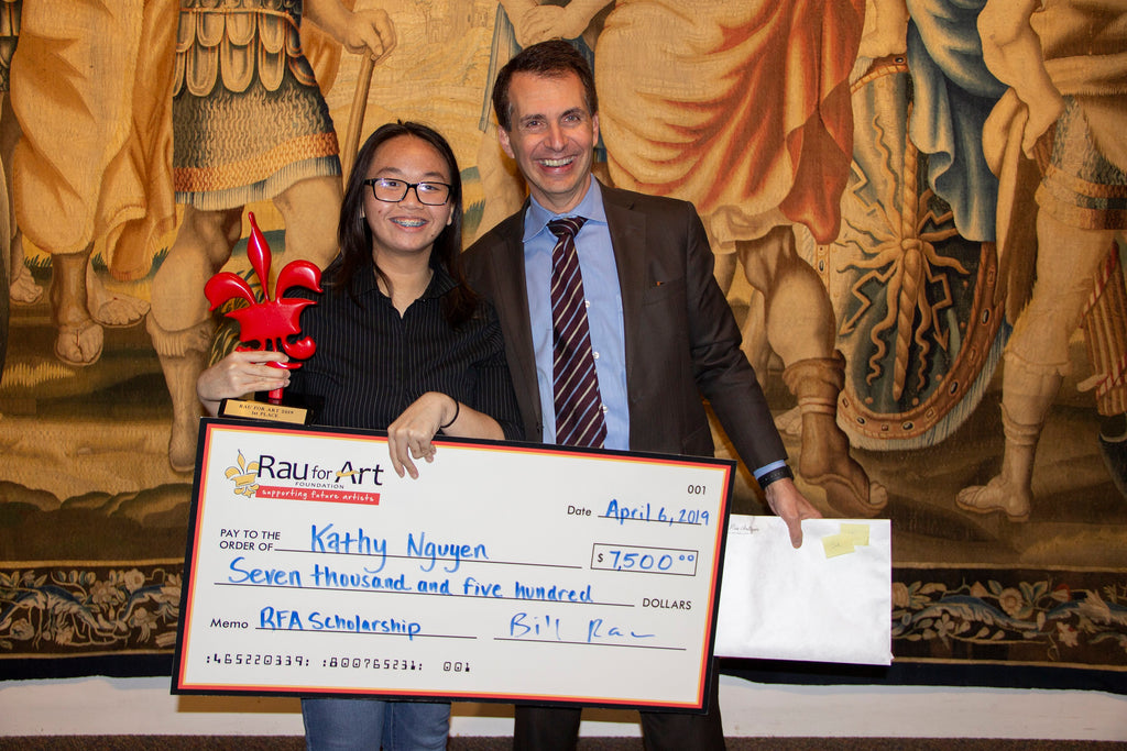 Young Talent: Announcing the Rau for Art Scholarship Winners
