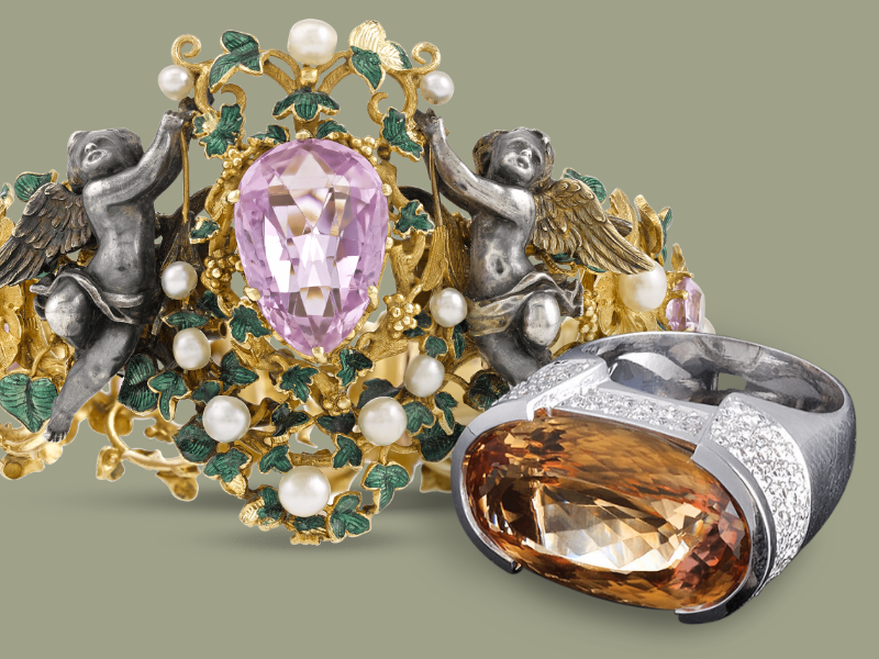 The Allure of Topaz Jewelry