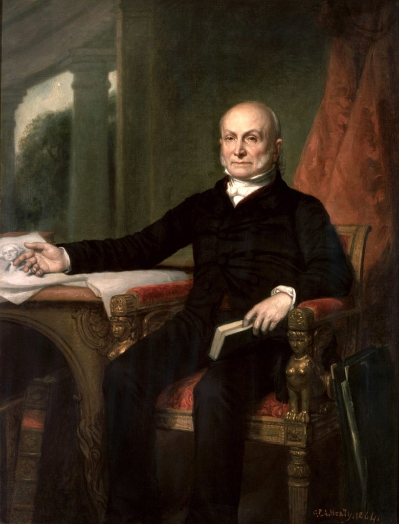President John Quincy Adams by GPA Healy