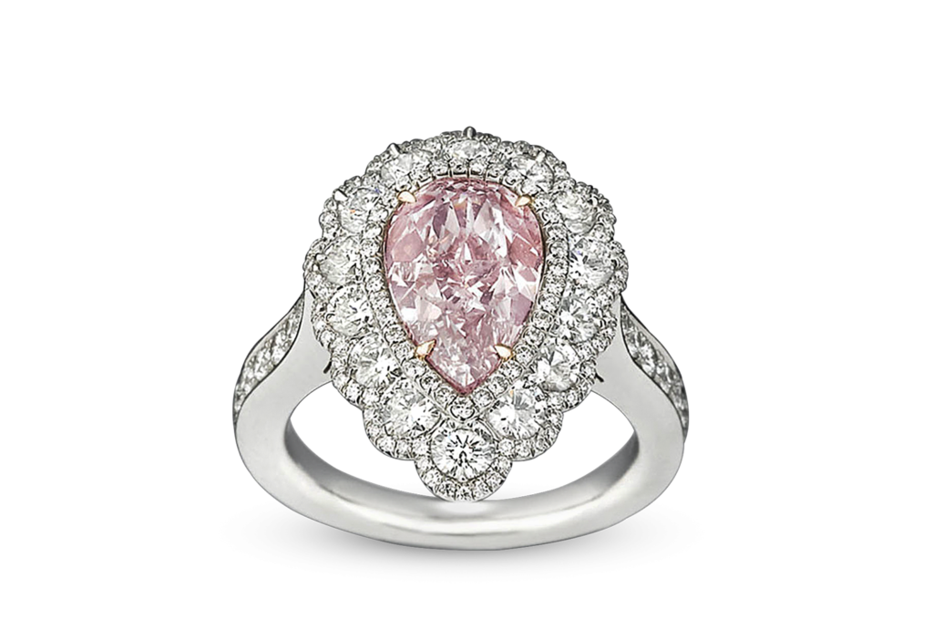 Fancy Pink Diamond Ring, 2.58 Carats