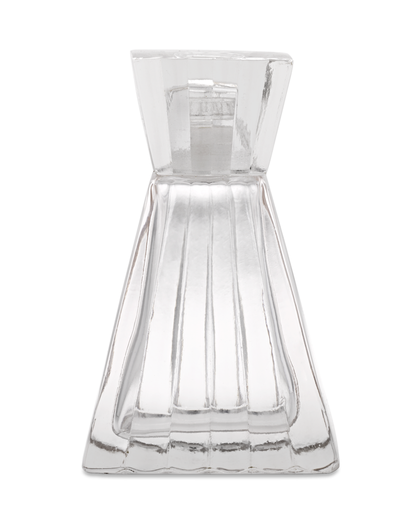 Art Deco Glass Perfume Bottle