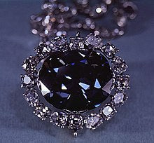 The Hope Diamond is now on display at the Smithsonian in Washington D.C.