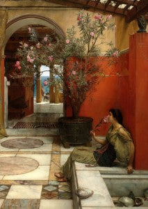 Oleander by Sir Lawrence Alma-Tadema