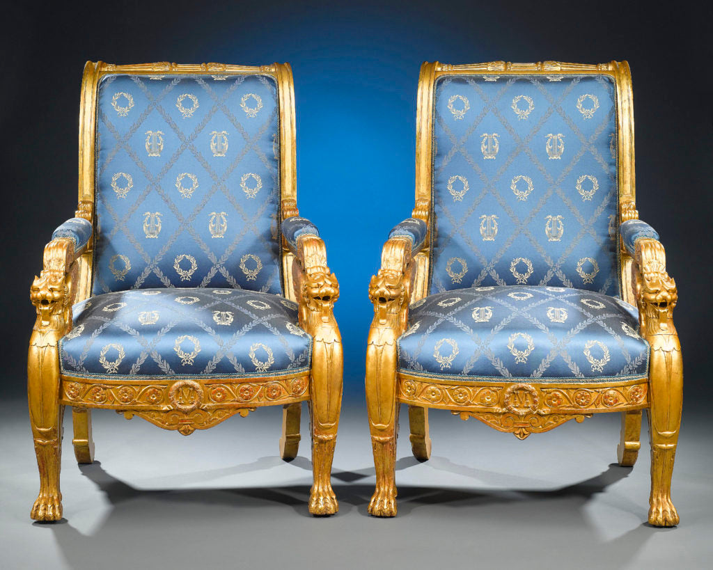 The General Masséna Armchairs