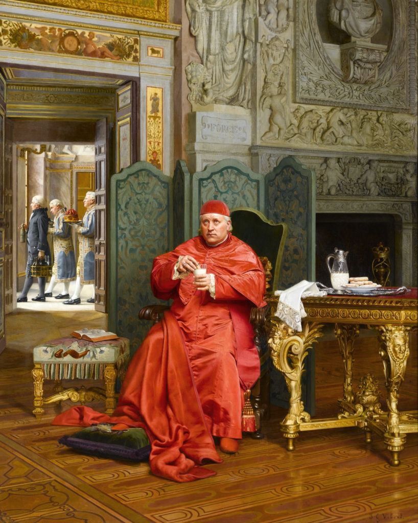The Diet by The Diet by Jehan-Georges Vibert