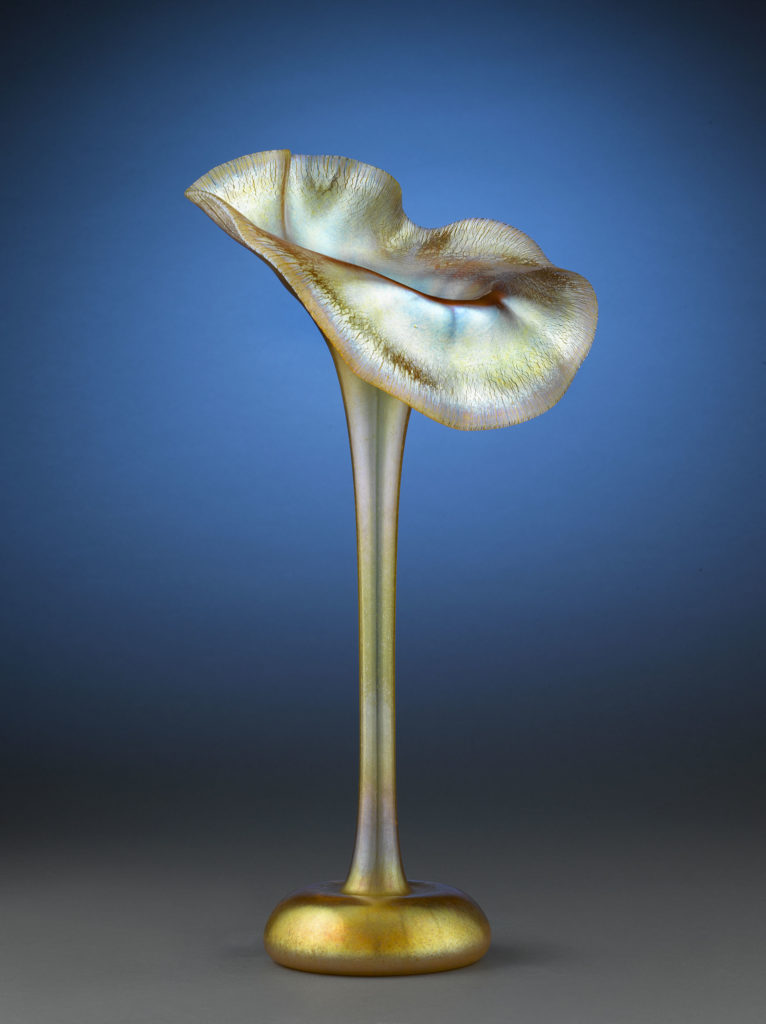 "Tiffany Studios ""Jack in the Pulpit"" Vase"