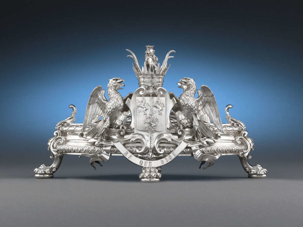 Caviar Server by Odoit, circa 1880