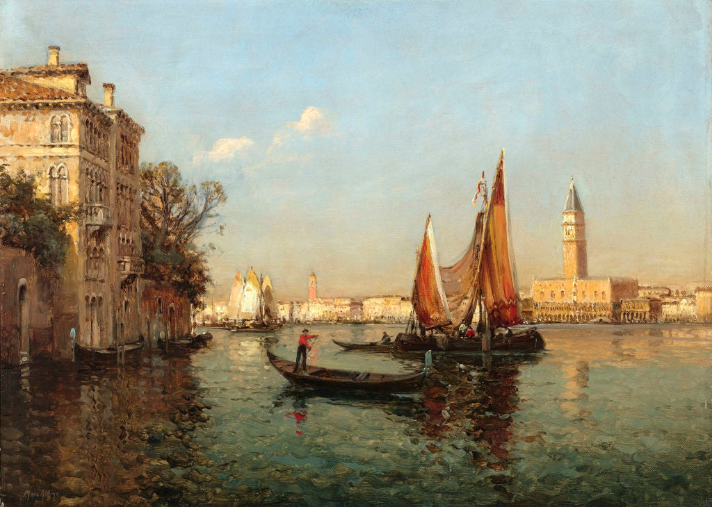The Grand Canal by Antoine Bouvard