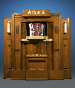 This Art Deco period Orchestrion dates to the very first years of Arburo operations, circa 1928-29