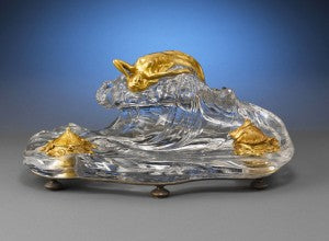 Baccarat Crystal Nautical Inkwell
