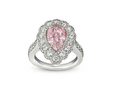 29-9840 Fancy Pink Diamond Ring, 2.58 Carats
