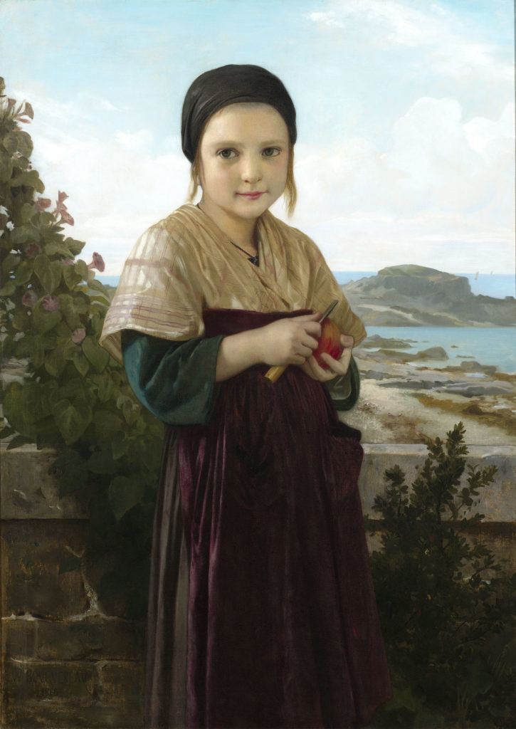 Jeannie by Bouguereau