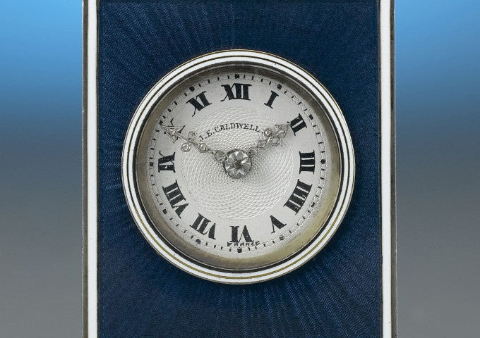"""Signed """"J.E.Caldwell/France"""" on the dial, and signed in the case"""