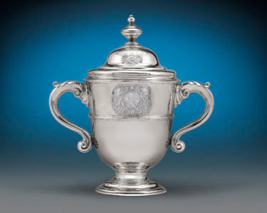 Georgian Silver Covered Cup by Paul de Lamerie