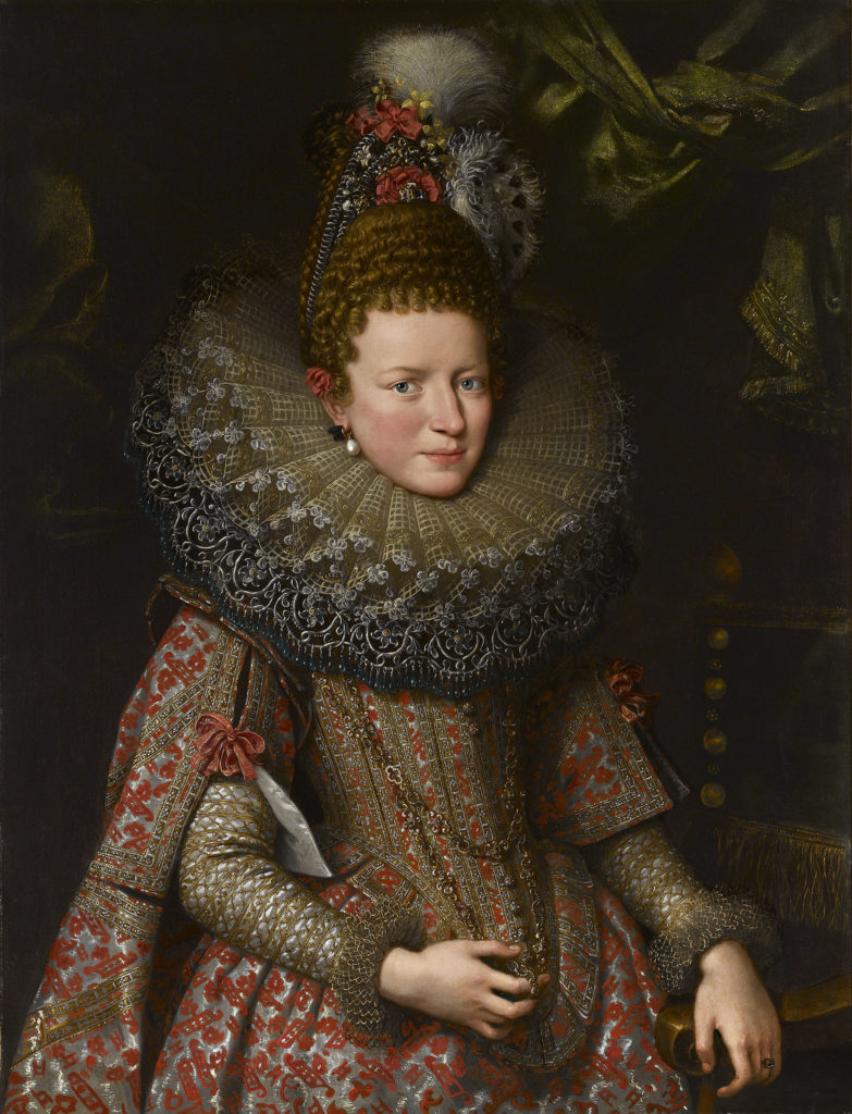 Portrait of Margherita Gonzaga by Frans Pourbus the Younger