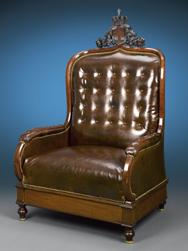 The King of Italy's Throne Chair