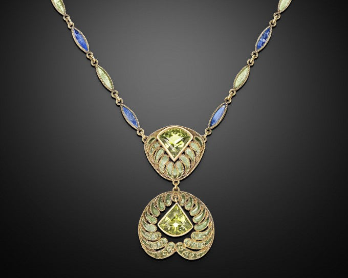 The enchanting piece is by the legendary artist and designer Louis Comfort Tiffany for Tiffany & Co.