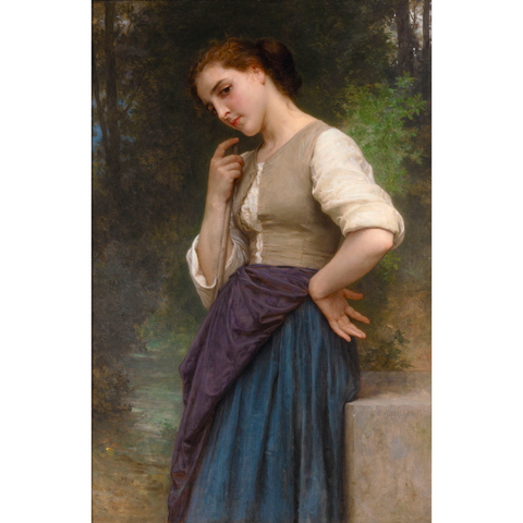 The Shepherdess by William Adolphe Bouguereau, circa 1895