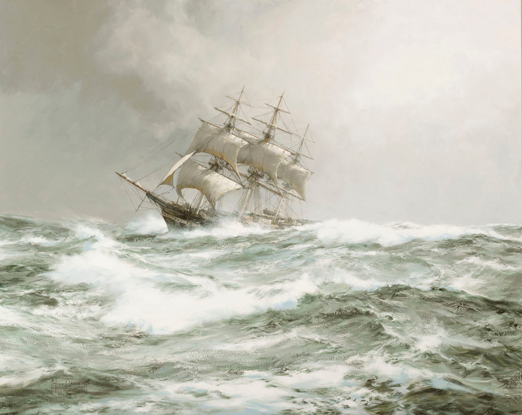 Atlantic Packet - The Devonshire, 1859 by Montague Dawson