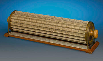 The Thacher Slide Rule is capable of calculating multiplication, division, squares and square roots as accurate as 4 to 5 decimal places
